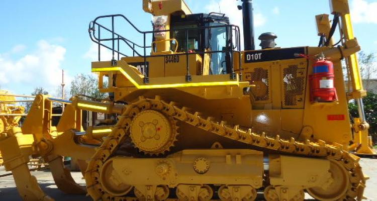 Cat D10T From Side