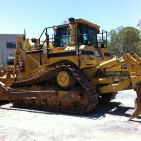 Caterpillar Dozer D8T wide shot