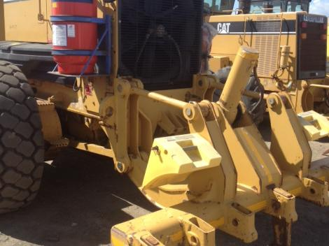 Motor Grader Attachement Closeup