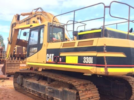 Used Caterpillar 330L Excavator
