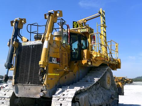 Caterpillar D11R on Flats