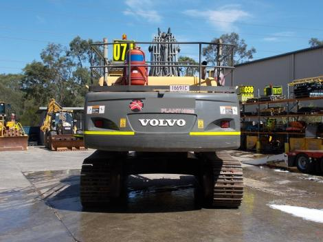Volvo EC460CL Excavator  in Yard rear view