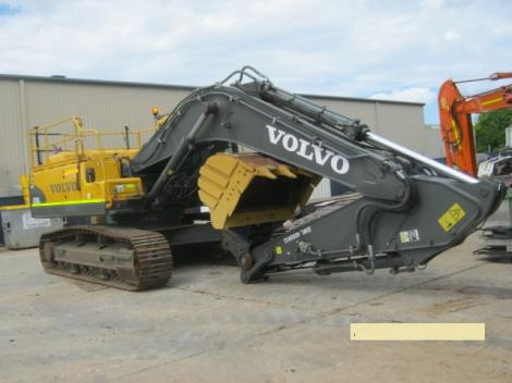 Volvo EX330CL Excavator Long shot in Yard