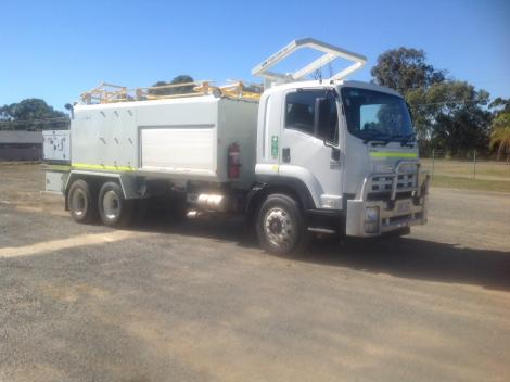 Used Isuzu FVZ1400 Water Carrier
