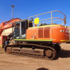 Used Hitachi Excavator ZX350LCH-3